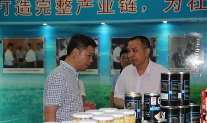 漳州市副市长陈水树莅临vwin博彩调研