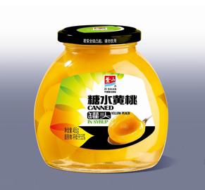 糖水黄桃罐头485g