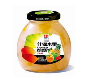 什锦水果罐头485g