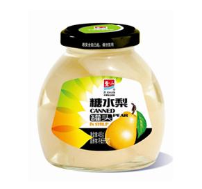 糖水梨罐头485g