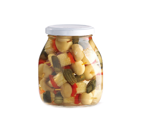 调味混合蔬菜罐头