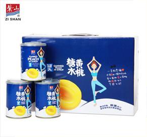 vwin博彩糖水黄桃罐头瑜伽礼盒