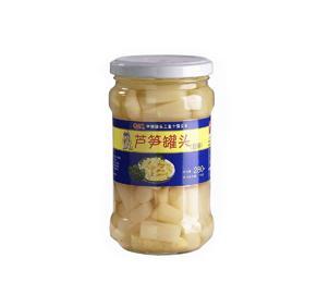 段装芦笋罐头