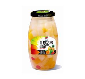 什锦水果罐头1055g