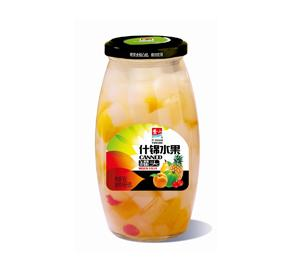 什锦水果罐头760g