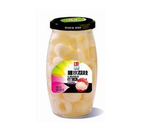 糖水荔枝罐头760g