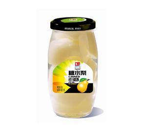 糖水梨罐头760g