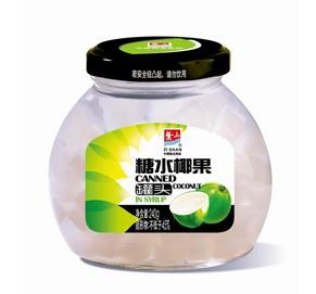 糖水椰果罐头485g