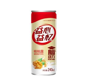 Purple mountain yixin yixin walnut dew 240ml