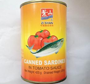 canned sardines in tomato sauce 425G