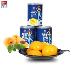 vwin博彩糖水黄桃5X425g